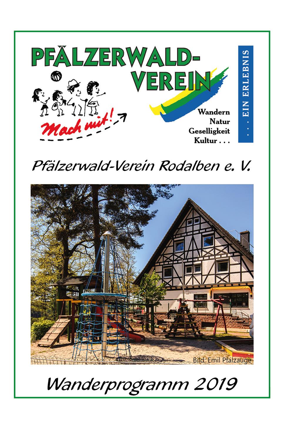 Wanderplan 2019 Pwv Rodalben Hilschberghaus